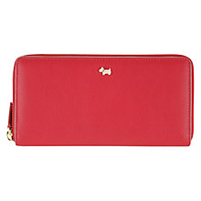 Buy Radley Blair Large Zip Matinée Leather Purse Online at johnlewis.com