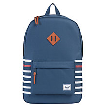 Buy Herschel Supply Co. Heritage Bag, Blue Online at johnlewis.com