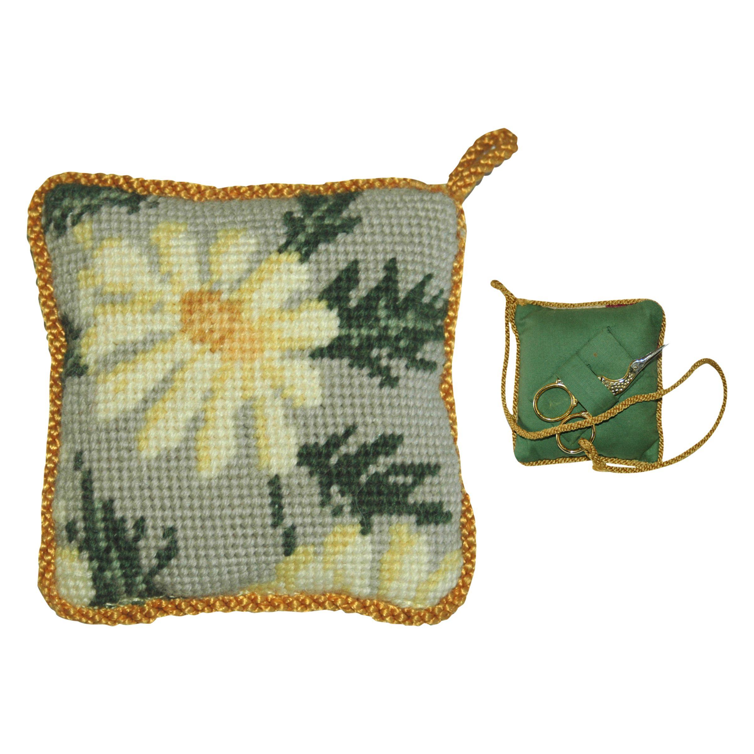 Cleopatra's Needle Cleopatra's Needle Marguerite Pin Cushion Kit, Green