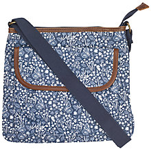 Buy Fat Face Butterfly Garden Across Body Bag, Navy Online at johnlewis.com