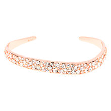 Buy Karen Millen Swarovski Crystal Pave Wave Cuff Online at johnlewis.com
