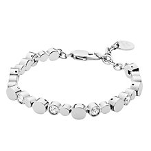 Buy Dyrberg/Kern Swarovski Crystals Tennis Bracelet Online at johnlewis.com