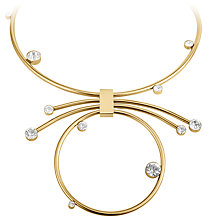 Buy Dyrberg/Kern Swarovski Crystal Hoop Necklace Online at johnlewis.com