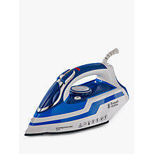 Buy Russell Hobbs 20631 Power Steam Pro Iron, Blue/White Online at johnlewis.com