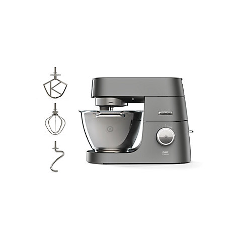 buy kenwood kvc7300s chef titanium stand mixer silver. Black Bedroom Furniture Sets. Home Design Ideas
