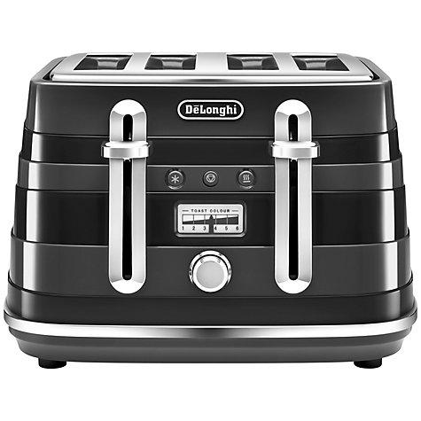 buy de 39 longhi avvolta 4 slice toaster john lewis. Black Bedroom Furniture Sets. Home Design Ideas