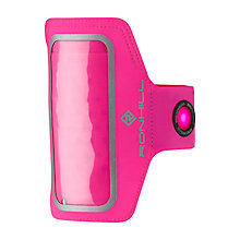 Buy Ronhill Phone MP3 Armband, One Size, Fluorescent Pink Online at johnlewis.com
