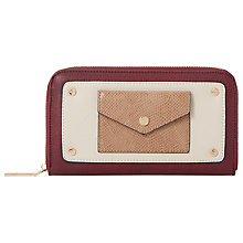 Buy Dune Klair Envelope Purse, Red Online at johnlewis.com