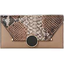 Buy Dune Kowlock Circular Lock Purse, Taupe Online at johnlewis.com