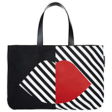 Buy Lulu Guinness 50:50 Lip Larysa Tote Bag, Multi Online at johnlewis.com