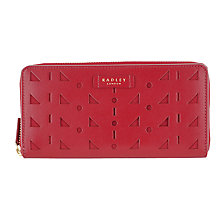 Buy Radley Whitfield Large Leather Zip Purse Online at johnlewis.com