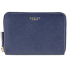 Buy Radley Whitfield Zip Leather Purse Online at johnlewis.com