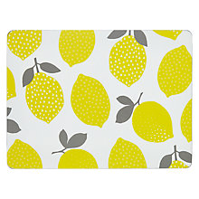 Buy John Lewis Lemons Placemat, Set of 6 Online at johnlewis.com