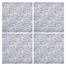 Buy John Lewis Nordic Coast Napkin, Set of 4 Online at johnlewis.com