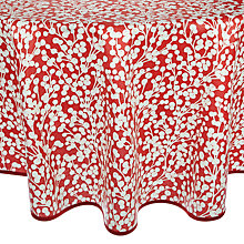 Buy John Lewis Snowberry Wipe Clean Tablecloth, Dia.180cm Online at johnlewis.com