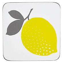 Buy John Lewis Lemons Coaster, Set of 6 Online at johnlewis.com