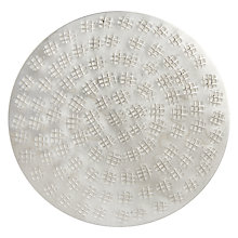 Buy John Lewis Persia Coaster, Silver Online at johnlewis.com