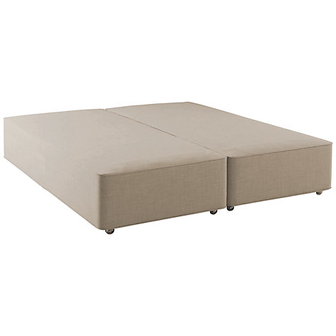 Buy hypnos firm edge divan base super king size john lewis for Super king size divan base only