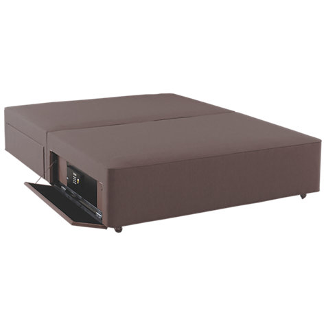Buy Hypnos Firm Edge 4 Drawer Divan Storage Bed With Laptop Safe Double John Lewis