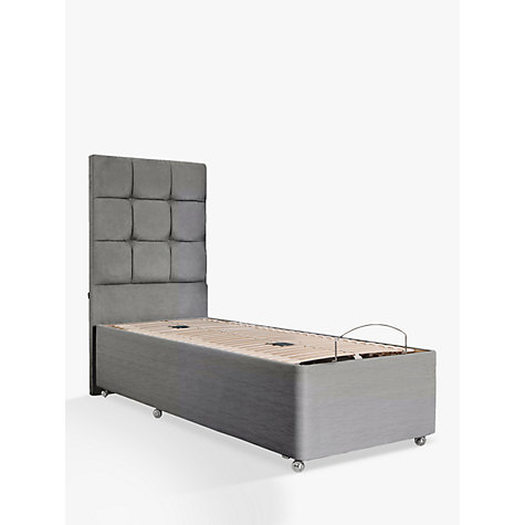 Buy tempur adjustable divan bed single john lewis for Low single divan bed