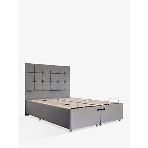Buy tempur adjustable divan bed super king size john lewis for King size divan bed with mattress