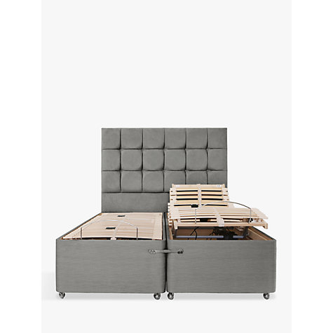 Buy Tempur Adjustable Divan Bed Super King Size John Lewis