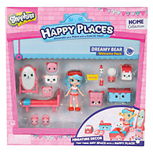 Buy Shopkins Happy Places Dreamy Bear Welcome Pack Online at johnlewis.com