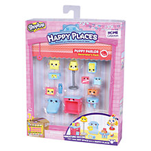 Buy Shopkins Happy Places Dreamy Puppy Parlour Decorator Pack Online at johnlewis.com