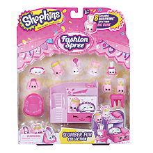 Buy Shopkins Slumber Fun Collection Online at johnlewis.com