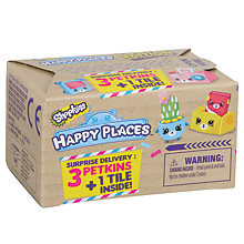 Buy Shopkins Happy Places Delivery Pack, Assorted Online at johnlewis.com
