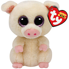 Buy Piggley Beanie Boo Soft Toy Online at johnlewis.com