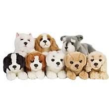 Buy Living Nature Puppy Soft Toy, Small, Assorted Online at johnlewis.com