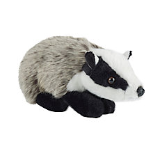 Buy Living Nature Badger Soft Toy, Medium Online at johnlewis.com