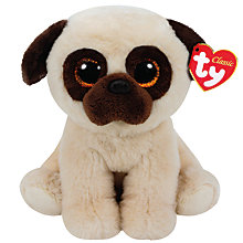 Buy Rufus Classic Beanie Soft Toy Online at johnlewis.com