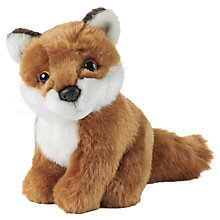 Buy Living Nature Fox Soft Toy, Medium Online at johnlewis.com