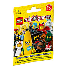 Buy LEGO Minifigures Series 16, Assorted Online at johnlewis.com