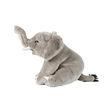 Buy Living Nature Elephant Soft Toy Online at johnlewis.com