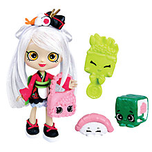 Buy Shopkins Sara Sushi Doll Online at johnlewis.com