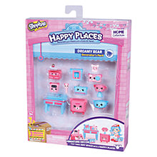 Buy Shopkins Happy Places Dreamy Bear Bedroom Decorator Pack Online at johnlewis.com