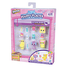 Buy Shopkins Happy Places Dreamy Bathing Bunny Bathroom Decorator Pack Online at johnlewis.com