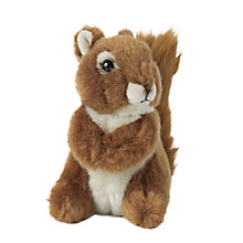 Buy Living Nature Squirrel Soft Toy, Medium Online at johnlewis.com