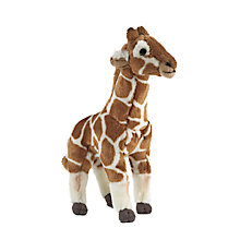 Buy Living Nature Giraffe Soft Toy Online at johnlewis.com
