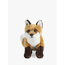 Buy Living Nature Fox Soft Toy, Large Online at johnlewis.com