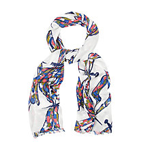 Buy White Stuff Dancing Dragonfly Scarf, Multi Online at johnlewis.com