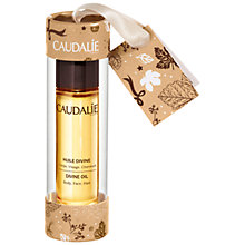 Buy Caudalie Divine Oil Bauble Gift Online at johnlewis.com