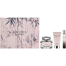 Buy Gucci Bamboo 50ml Eau de Parfum Fragrance Gift Set Online at johnlewis.com