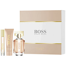 Buy HUGO BOSS BOSS The Scent For Her 50ml Eau de Parfum Fragrance Gift Set Online at johnlewis.com