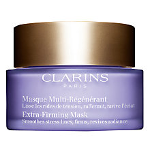Buy Clarins Extra-Firming Mask, 75ml Online at johnlewis.com