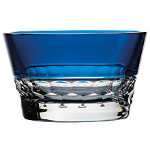 Buy Jo Sampson at Waterford Half & Half Bowl, Azure Online at johnlewis.com