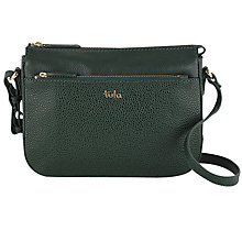 Buy Tula Alpine Originals Leather Small Across Body Bag Online at johnlewis.com